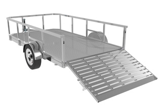 Aluminium Open Trailer