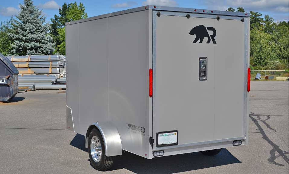 Rugged Enclosed Aluminium Trailer