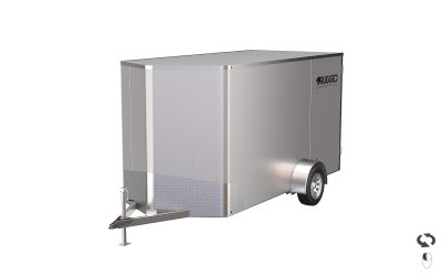 Rust Proof Enclosed Aluminum Trailer