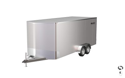 Enclosed Aluminum Trailer