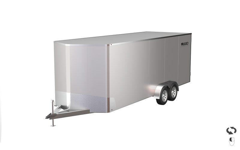 Custom Enclosed Aluminum Trailer